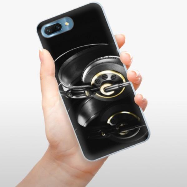 Silikonové pouzdro iSaprio - Headphones 02 - Huawei Honor 10