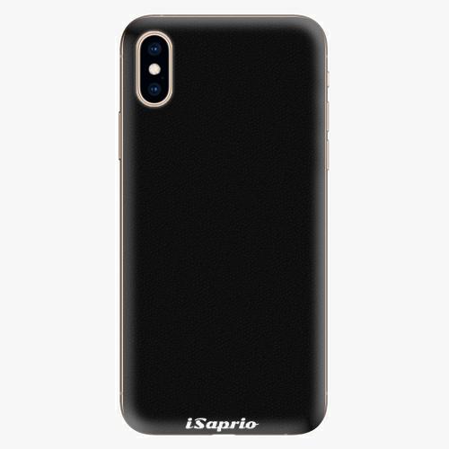 Silikonové pouzdro iSaprio - 4Pure - černý - iPhone XS