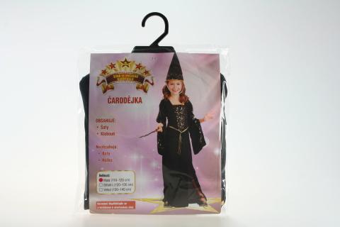 Šaty Čarodějka 110-120cm