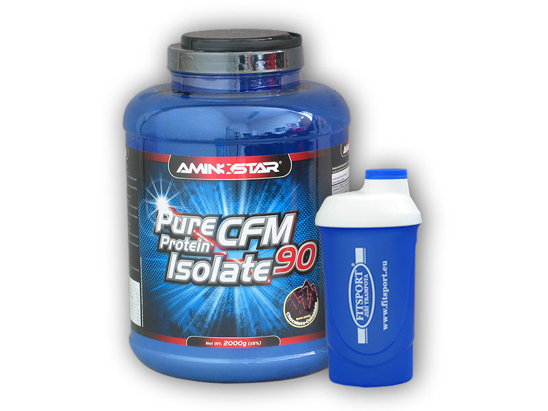 CFM Whey Protein Isolate 2000g + šejkr zdarma