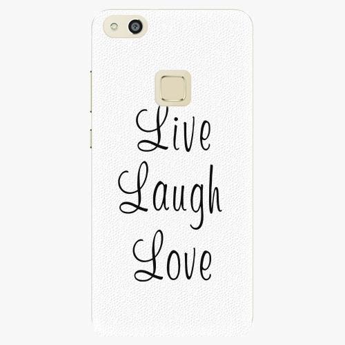 Plastový kryt iSaprio - Live Laugh Love - Huawei P10 Lite