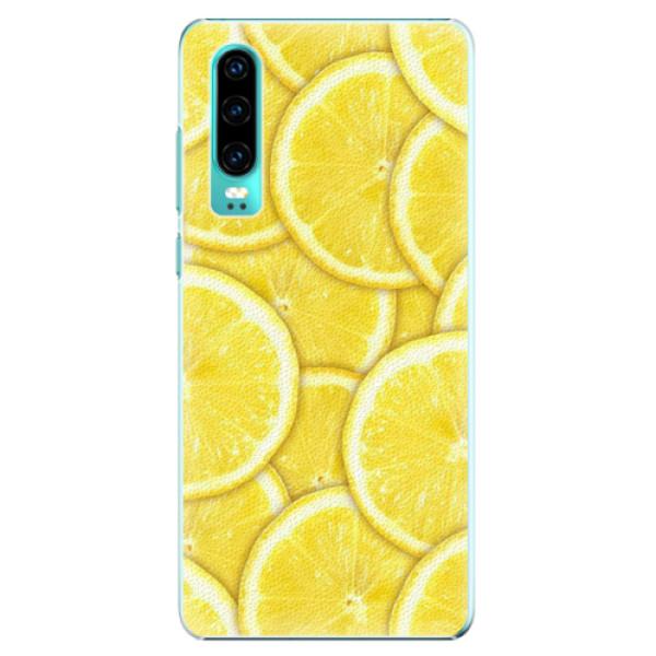 Plastové pouzdro iSaprio - Yellow - Huawei P30