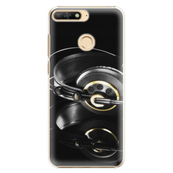 Plastové pouzdro iSaprio - Headphones 02 - Huawei Y6 Prime 2018