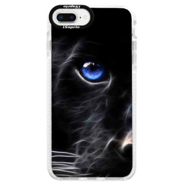 Silikonové pouzdro Bumper iSaprio - Black Puma - iPhone 8 Plus