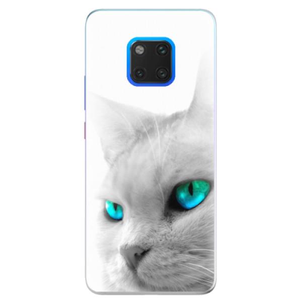 Silikonové pouzdro iSaprio - Cats Eyes - Huawei Mate 20 Pro