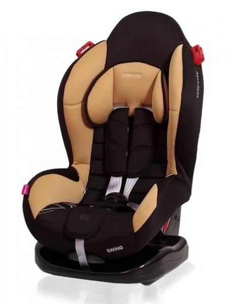 Autosedačka Coto Baby Swing 2020, 9-25kg - černá, kávová
