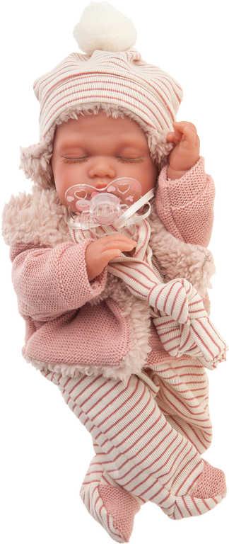 ANTONIO JUAN Panenka miminko Luni 29cm spící realistická pohybová funkce
