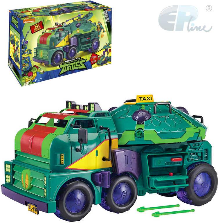 EP line Želvy Ninja tank laboratoř 10 funkcí 2v1 set s doplňky plast