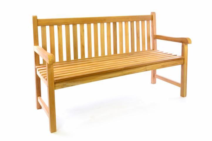 Zahradní dřevěná lavice DIVERO - 150 cm