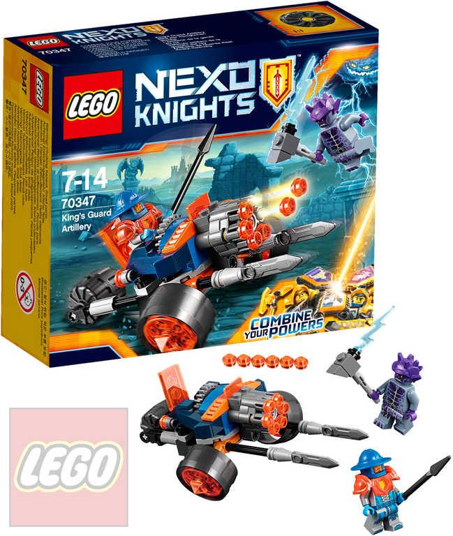 LEGO NEXO KNIGHTS Dělostřelectvo královy stráže 70347 STAVEBNICE