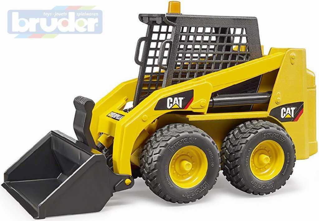 BRUDER 02481 Čelní žlutý kolový nakladač Cat Bob model 1:16 plast