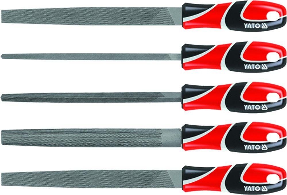 Sada zámečnických pilníků - 250 mm, 5 ks