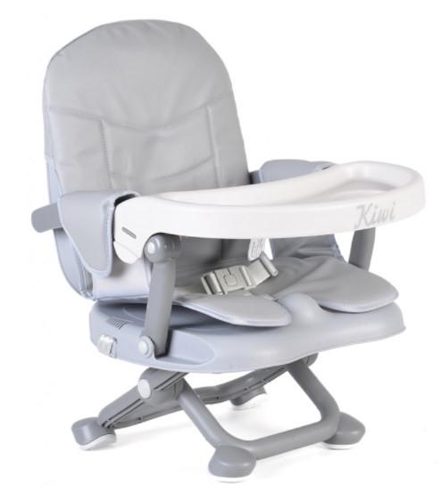 Moni Dětská jídelní židlička Kiwi - šedá