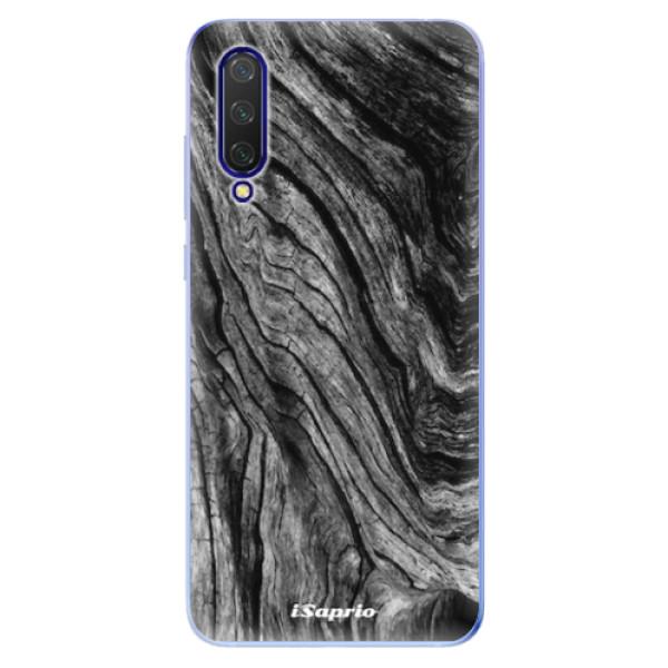 Odolné silikonové pouzdro iSaprio - Burned Wood - Xiaomi Mi 9 Lite