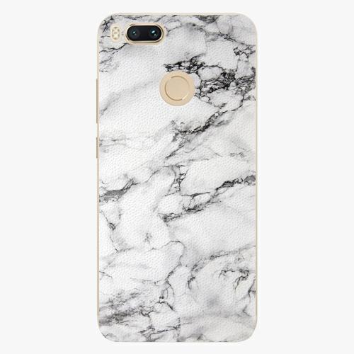 Plastový kryt iSaprio - White Marble 01 - Xiaomi Mi A1