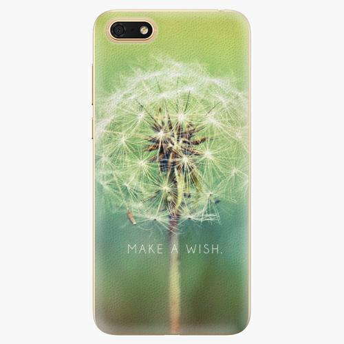 Silikonové pouzdro iSaprio - Wish - Huawei Honor 7S