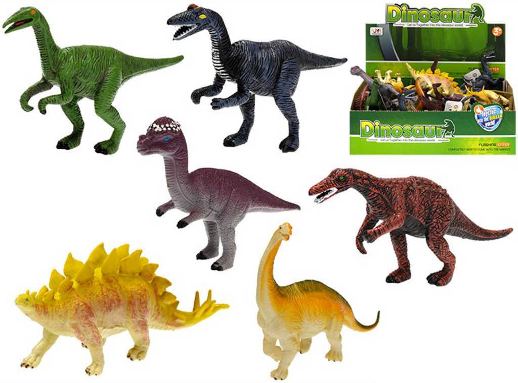 Zvířátko dinosaurus 14-16cm pravěký ještěr různé druhy plast