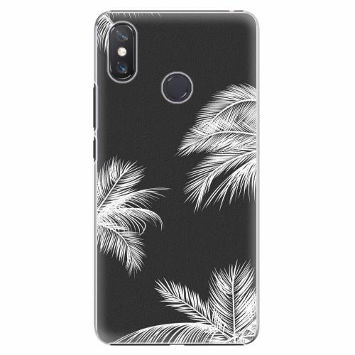 Plastový kryt iSaprio - White Palm - Xiaomi Mi Max 3
