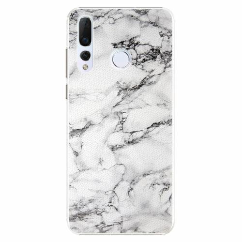 Plastový kryt iSaprio - White Marble 01 - Huawei Nova 4