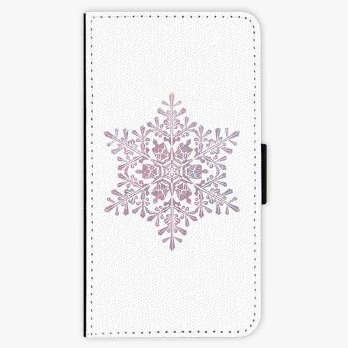 Flipové pouzdro iSaprio - Snow Flake - Samsung Galaxy A3