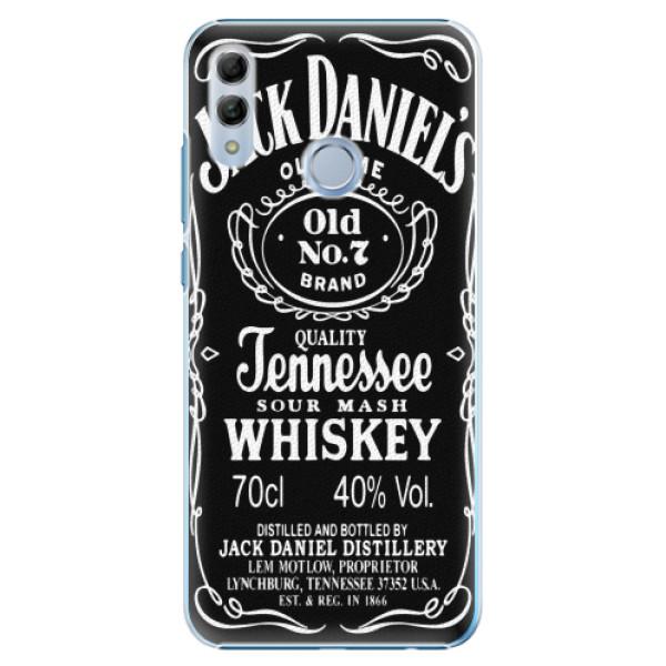Plastové pouzdro iSaprio - Jack Daniels - Huawei Honor 10 Lite