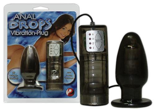 Vibrační Anal Drops plug