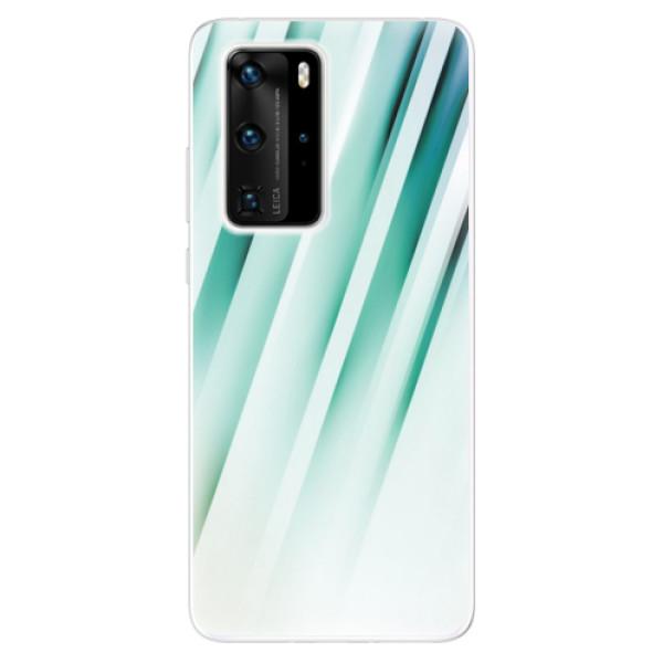 Odolné silikonové pouzdro iSaprio - Stripes of Glass - Huawei P40 Pro