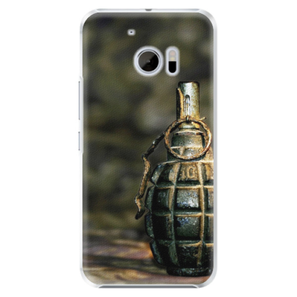 Plastové pouzdro iSaprio - Grenade - HTC 10