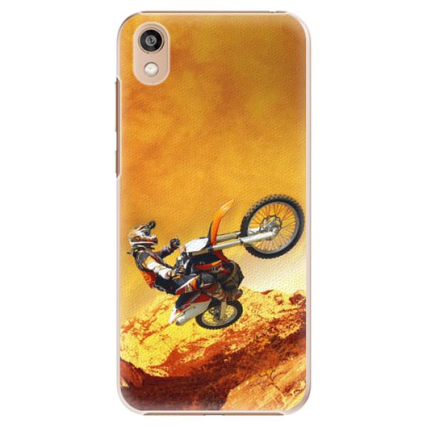 Plastové pouzdro iSaprio - Motocross - Huawei Honor 8S