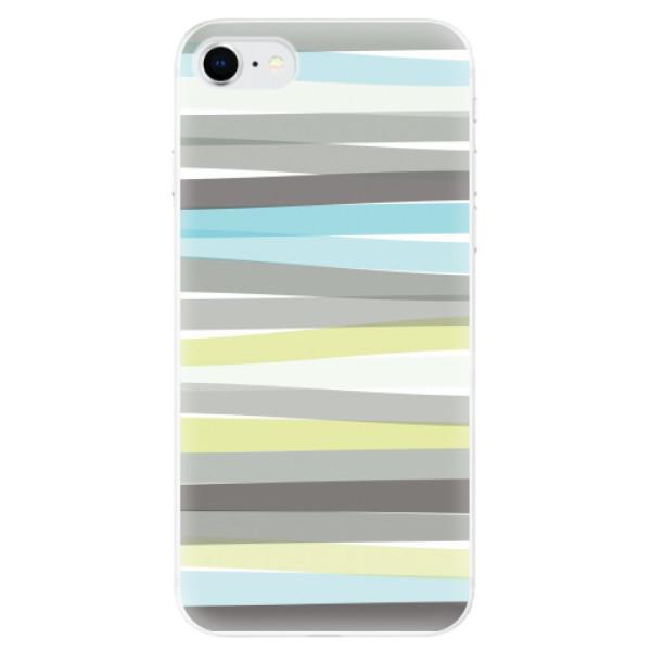 Odolné silikonové pouzdro iSaprio - Stripes - iPhone SE 2020