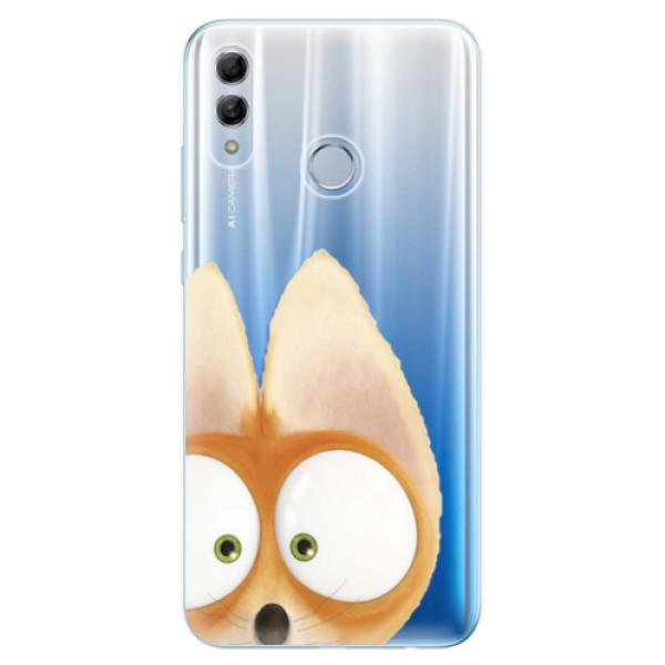Odolné silikonové pouzdro iSaprio - Fox 02 - Huawei Honor 10 Lite