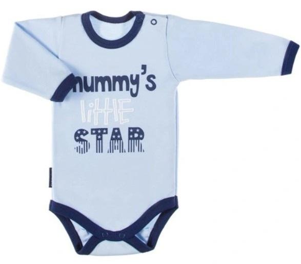 eevi-kojenecke-body-dl-rukav-zapinani-u-krku-mummy-s-little-star-modre-68-4-6m