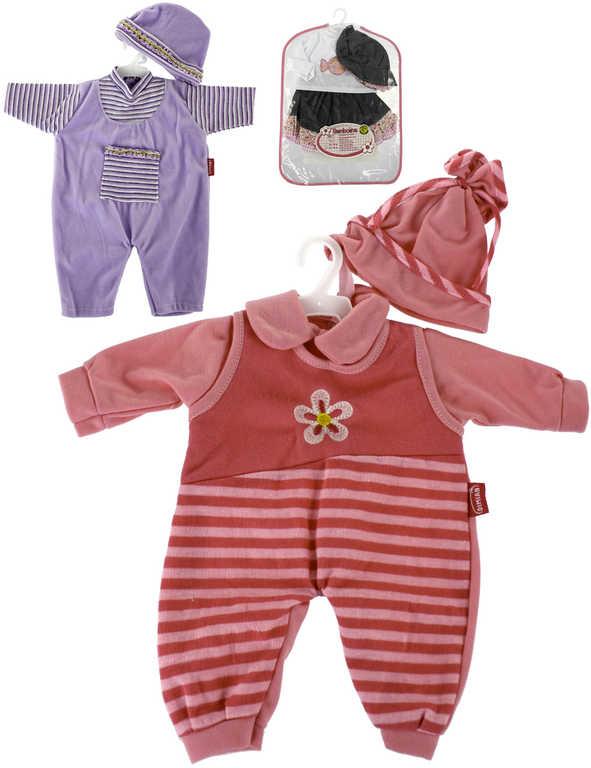 Set obleček pro panenku miminko Bambolina různé druhy
