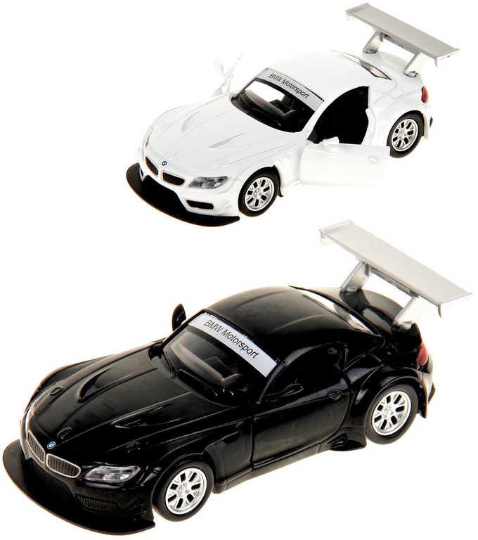 Auto model BMW Z4 GT3 12cm na baterie Světlo Zvuk kov 2 barvy