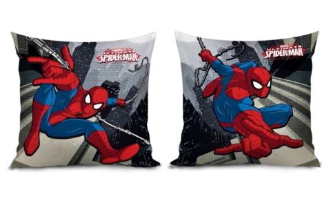 Polštář Spiderman 35 x 35 cm.