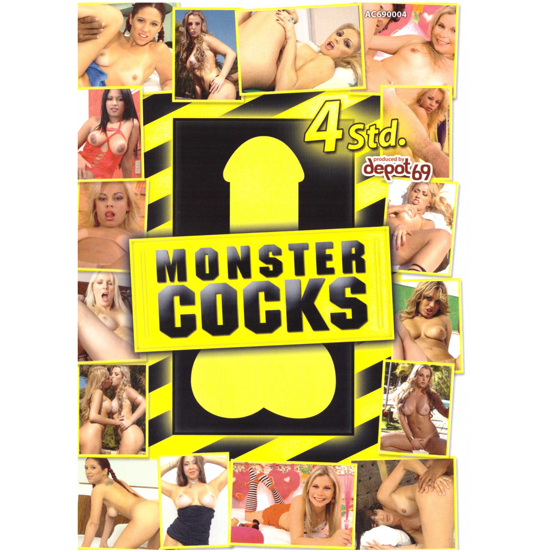 DVD - Monstercocks - Maxipéra <br />4 HODINY, DVD