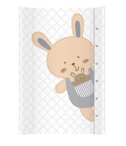 Albero Mio Přebalovací podložka - tvrdá - na postýlku 120x60 cm - Veselý králíček