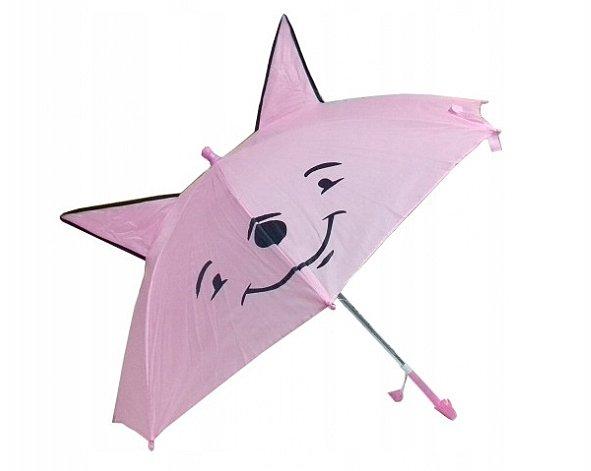Dívčí deštník s ušima a píšťálkou