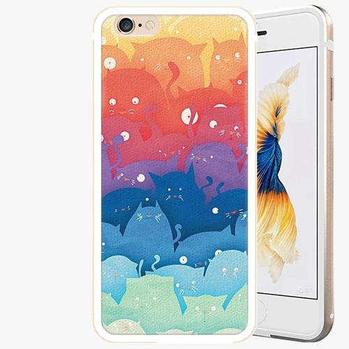 Plastový kryt iSaprio - Cats World - iPhone 6 Plus/6S Plus - Gold