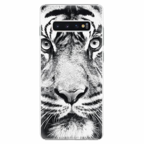 Plastový kryt iSaprio - Tiger Face - Samsung Galaxy S10+