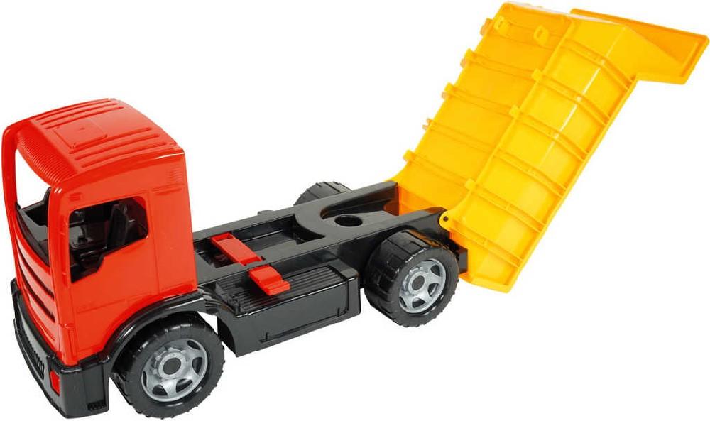 LENA Auto funkční sklápěč 62cm korba s pojistkou plast v krabici 2160