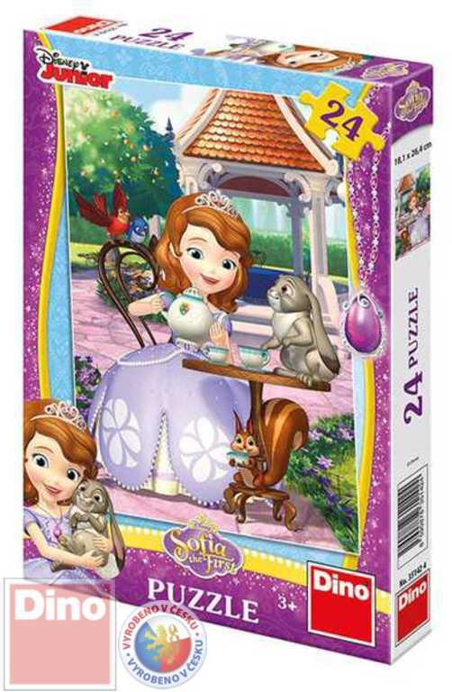 DINO Puzzle Sofie a zvířátka 24 dílků