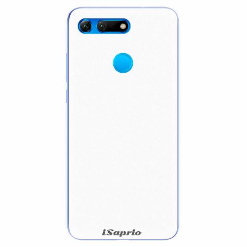 Silikonové pouzdro iSaprio - 4Pure - bílý - Huawei Honor View 20