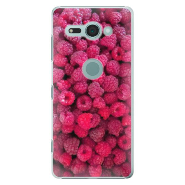 Plastové pouzdro iSaprio - Raspberry - Sony Xperia XZ2 Compact
