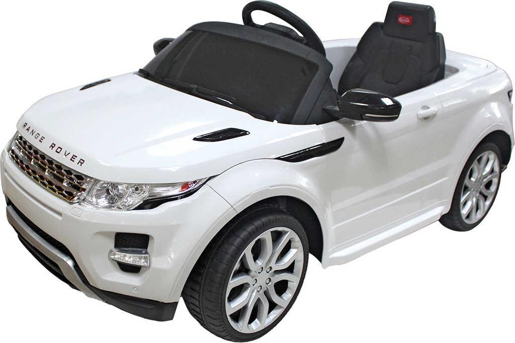 RC Auto Land Rover Evoque 6V na vysílačku mp3 dětské ELEKTRICKÉ VOZIDLO
