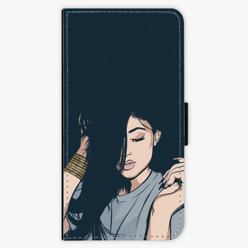 Flipové pouzdro iSaprio - Swag Girl - Samsung Galaxy A5 2017
