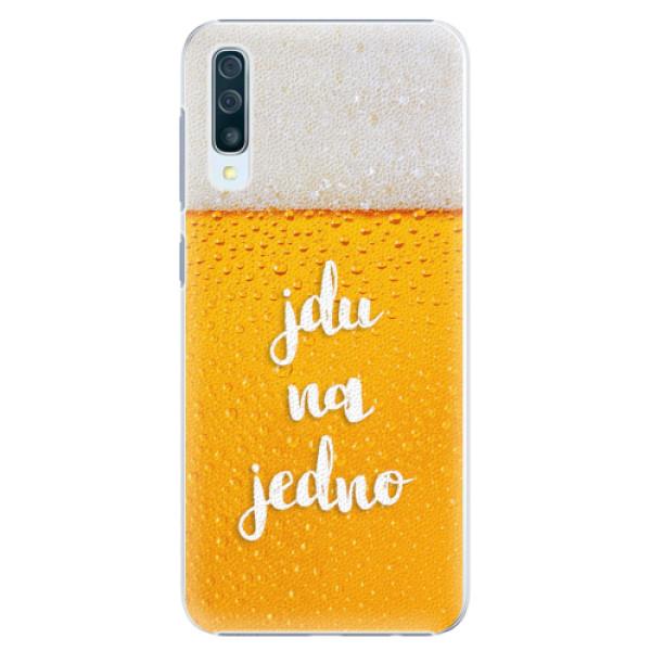 Plastové pouzdro iSaprio - Jdu na jedno - Samsung Galaxy A50
