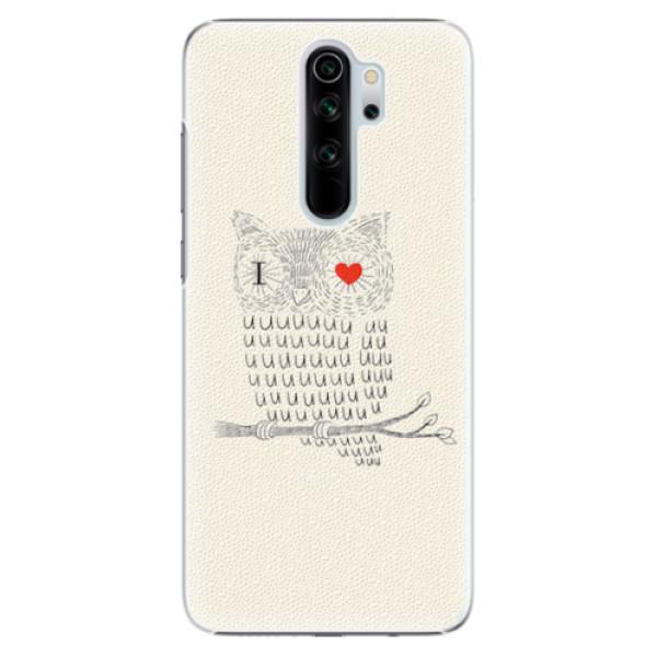 Plastové pouzdro iSaprio - I Love You 01 - Xiaomi Redmi Note 8 Pro