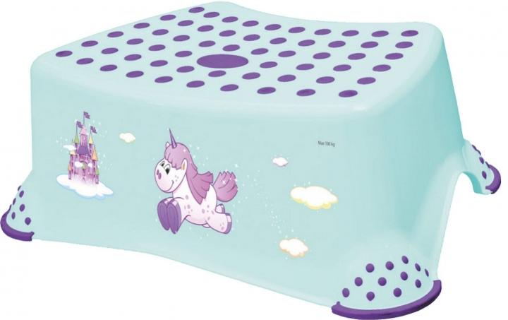 Keeeper Stolička, schůdek s protiskluzovou funkcí - Unicorn