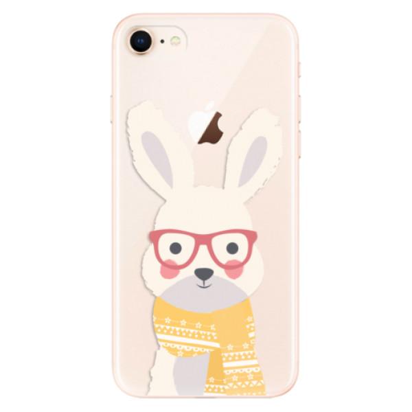 Odolné silikonové pouzdro iSaprio - Smart Rabbit - iPhone 8